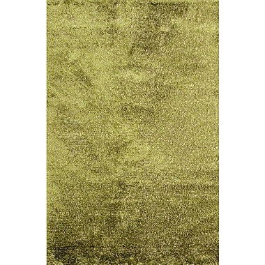 MOTI Rugs Royal Shag Green Rug; 5' x 7'6''