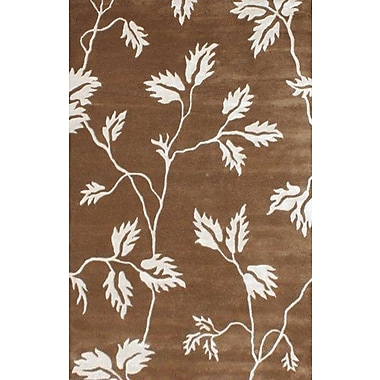 Noble House Florence Brown/Beige Area Rug; 5' x 8'