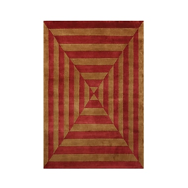 Noble House Noble Gold/Rust Area Rug; 9' x 12'