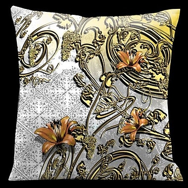 Lama Kasso Como Gardens Throw Pillow