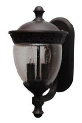 Melissa Tuscany 2-Light Outdoor Sconce; Old World