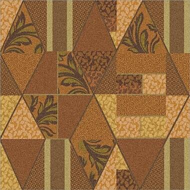 Milliken Pastiche Valencia Sunset Gold Area Rug; Rectangle 3'10'' x 5'4''
