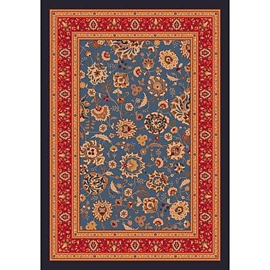 Milliken Pastiche Aydin Moor Blue Rug; Rectangle 2'8'' x 3'10''