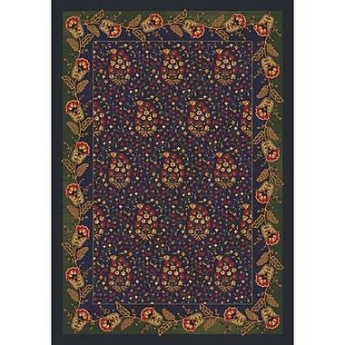 Milliken Pastiche Kashmiran Caramay Midnight Area Rug; Rectangle 2'8'' x 3'10''