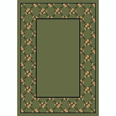 Milliken Design Center Moss Rose Bower Area Rug; Runner 2'4'' x 23'2''