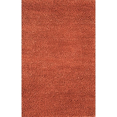 Noble House Spectra Rusty Red Rug; 5' x 8'
