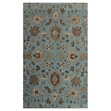 MOTI Rugs Belize Blue Area Rug; 2' x 3'
