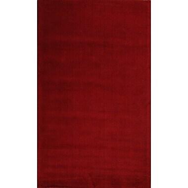 MOTI Rugs Verde Red Rug; 8' x 11'