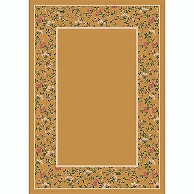 Milliken Design Center Golden Topaz Garden Glory Area Rug; Runner 2'4'' x 15'6''
