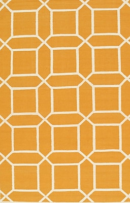 Pasargad Sahara Orange/Ivory Area Rug; 2' x 3'