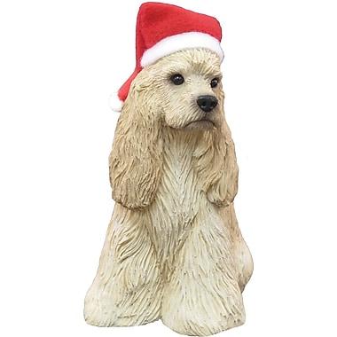 Sandicast Buff Cocker Spaniel Christmas Ornament