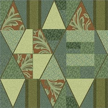 Milliken Pastiche Valencia Beechnut Green Area Rug; Rectangle 3'10'' x 5'4''