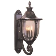 Melissa Tuscany 4-Light Outdoor Sconce; Old Bronze