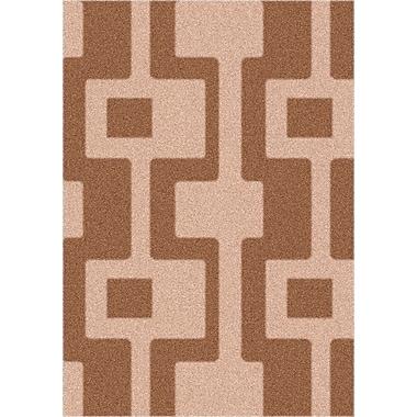 Milliken Modern Times Uptown Sorrel Area Rug; Rectangle 3'10'' x 5'4''