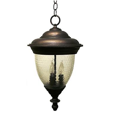 Melissa Tuscany TC3700 Series 3-Light Lantern Head; Architectural Bronze