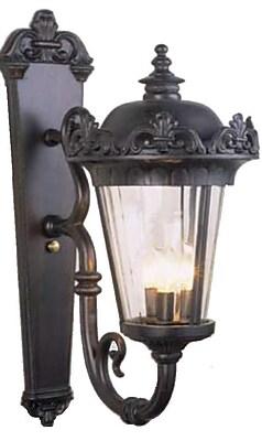 Melissa Parisian Elegance 3-Light Outdoor Sconce; Old Bronze