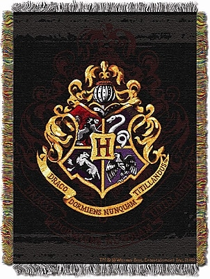 Northwest Co. Entertainment Harry Potter Hogwarts D cor Tapestry Throw