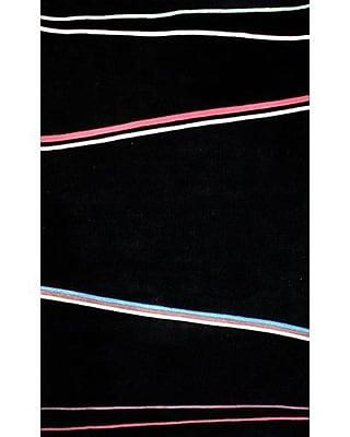 American Home Rug Co. Bright Matrix Blacki Area Rug; 3'6'' x 5'6''