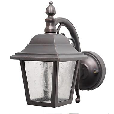 Melissa Kiss Series 1-Light Outdoor Wall Lantern; Old Iron