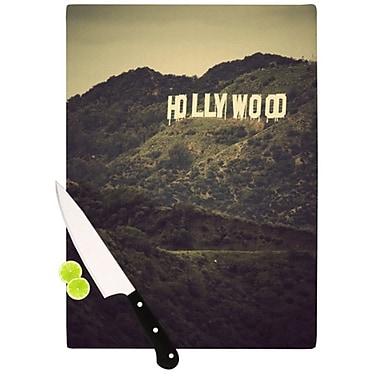 KESS InHouse Hollywood Cutting Board; 11.5'' H x 8.25'' W x 0.25'' D