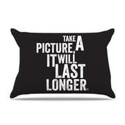 KESS InHouse Take a Picture Pillowcase; Standard