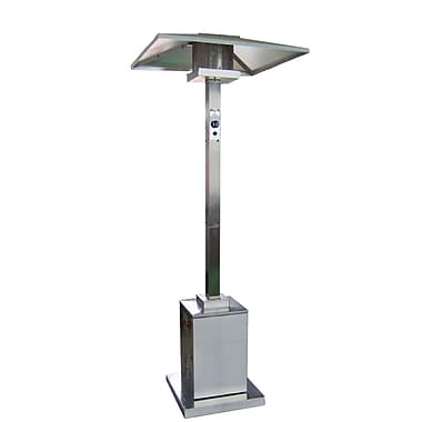 AZ Patio Heaters Tall Commercial 38,000 BTU Propane Patio Heater; Stainless Steel