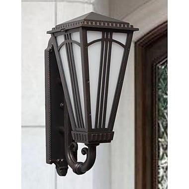 Melissa Parisian Elegance 2-Light Outdoor Sconce; Old Bronze