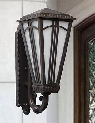 Melissa Parisian Elegance 2-Light Outdoor Sconce; Old World