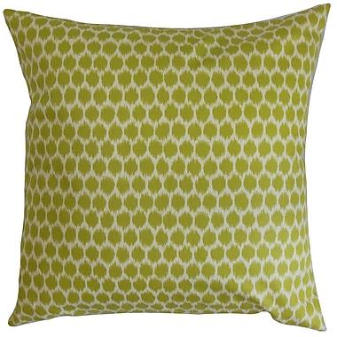 The Pillow Collection Fiachra Cotton Throw Pillow; 18''x18''