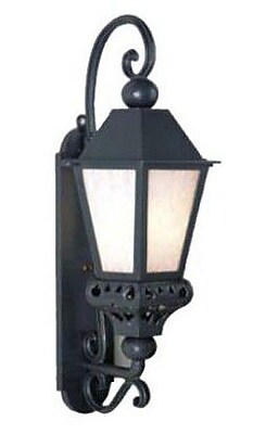 Melissa Tuscany 1-Light Outdoor Wall Lantern; Old Bronze
