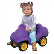 Wesco NA Small People Carrier Push/Scoot Car; Violet