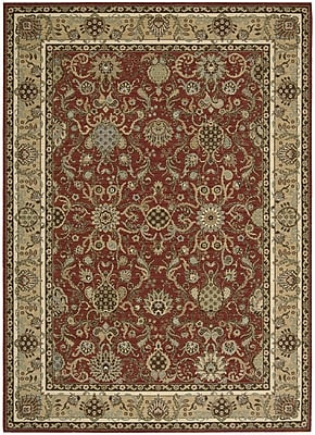 Kathy Ireland Home Gallery Lumiere Stateroom Brown Area Rug; Rectangle 7'9'' x 10'10''