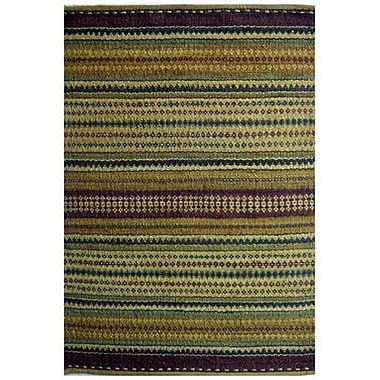 Acura Rugs Diana Green Area Rug; 4' x 6'