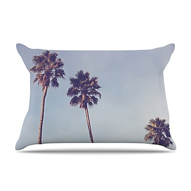 KESS InHouse Sunshine and Warmth Pillowcase; King