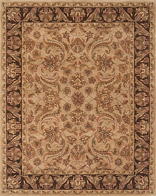 Continental Rug Company Pardis Beige/Brown Rug; 9' x 12'