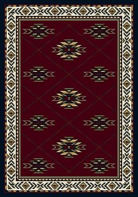 Milliken Signature Shiba Garnet Sapphire Area Rug; Rectangle 7'8'' x 10'9''