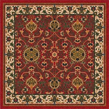 Milliken Pastiche Sumero Indian Red Area Rug; Rectangle 2'8'' x 3'10''
