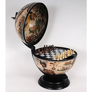 Old Modern Handicrafts White Globe w/ Chess Holder