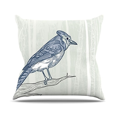 KESS InHouse Jay Throw Pillow; 26'' H x 26'' W
