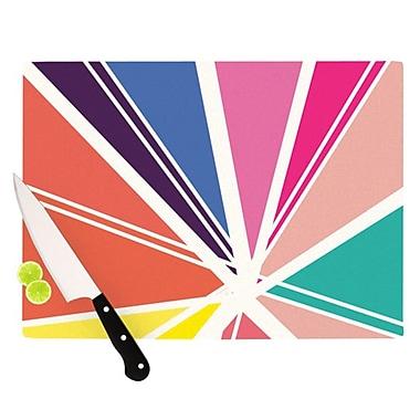 KESS InHouse Boldly Bright Cutting Board; 11.5'' H x 8.25'' W x 0.25'' D