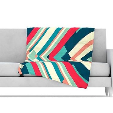 KESS InHouse Good Night Nobody Throw Blanket; 80'' L x 60'' W