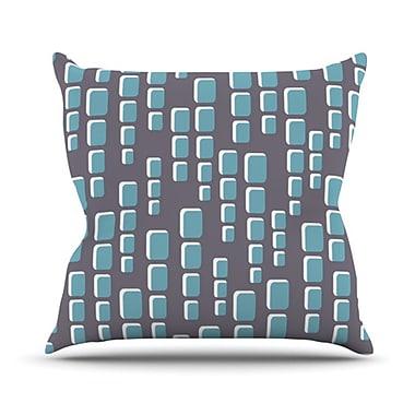 KESS InHouse Cubic Geek Chic Throw Pillow; 26'' H x 26'' W