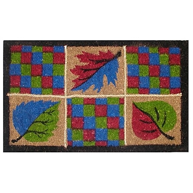 Imports Decor Creel Leaves Rope Doormat; Rectangle 18'' x 30''
