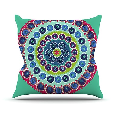 KESS InHouse Surkhandarya Throw Pillow; 20'' H x 20'' W