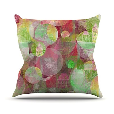 KESS InHouse Dream Place Throw Pillow; 20'' H x 20'' W
