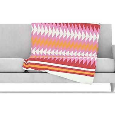KESS InHouse Bomb Pop Fleece Throw Blanket; 60'' H x 50'' W