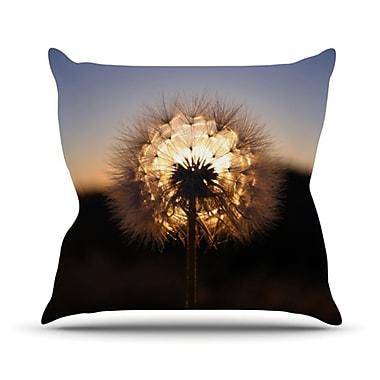 KESS InHouse Glow Throw Pillow; 18'' H x 18'' W