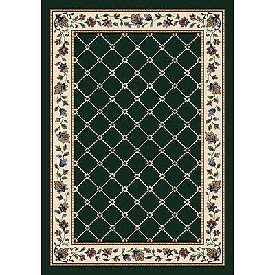 Milliken Signature Symphony Emerald Area Rug; Rectangle 5'4'' x 7'8''