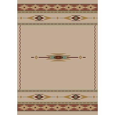 Milliken Signature Eagle Canyon Pearl Mist Area Rug; Square 7'7''
