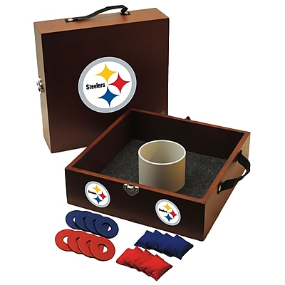 Tailgate Toss NFL Washer Toss Game Set; Pittsburgh Steelers WYF078275798447